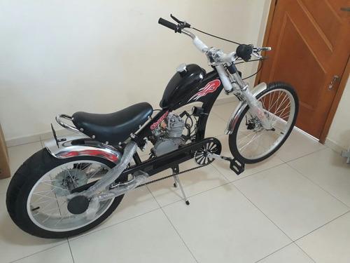 bicicleta chopper motorizada importada a pronta entrega