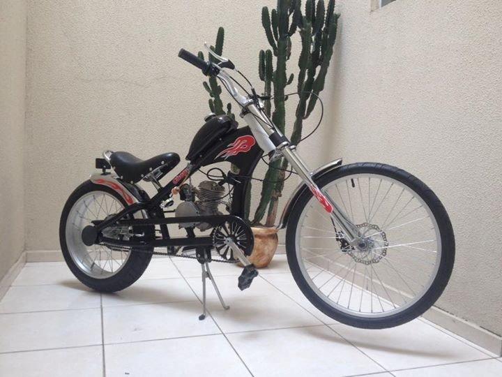 Bicicleta Chopper Motorizada Motor Dois Tempos - R$ 4.999