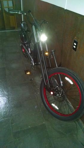 bicicleta chopper schwinn spoiler by  occ acompanha motor*