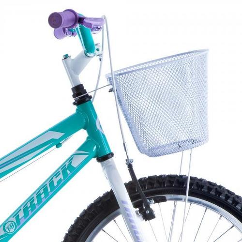 bicicleta cindy aro 20 sem marcha azul - track & bikes