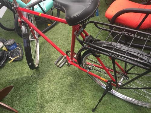 bicicleta  clásica eastman, rin 28 de turismo recién restaur