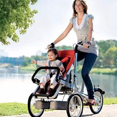 bicicleta coche triciclo paseo para bebé o niño familia 12sr