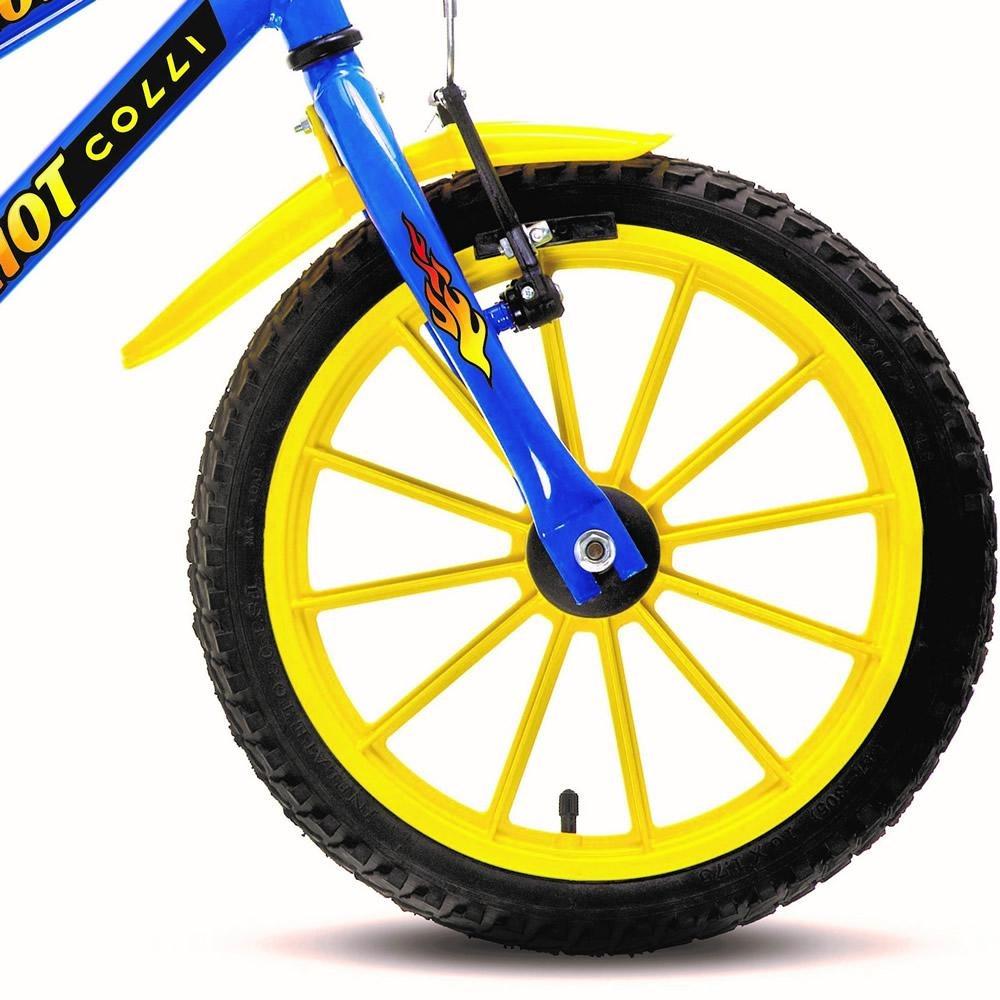 1ed2f44d7 Bicicleta Colli Mtb Hot Aro 16 Azul Masculino - 102.04d - R  409
