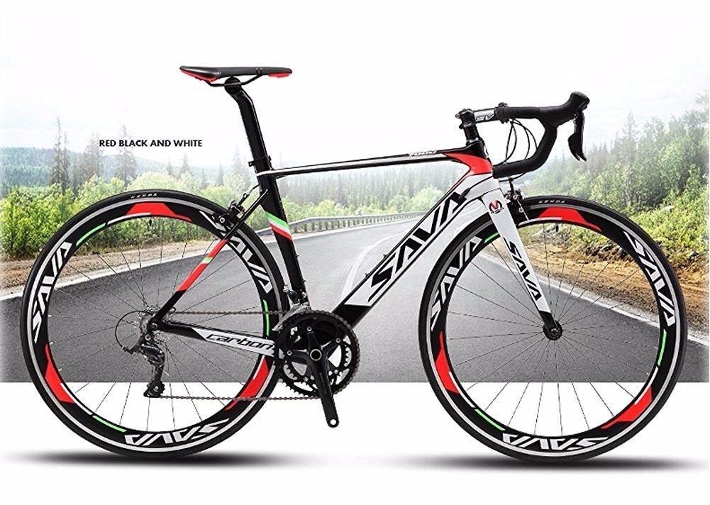 Bicicleta Competição Savadeck 700c Road Bike Carbon Fiber 50. Carregando  Zoom.