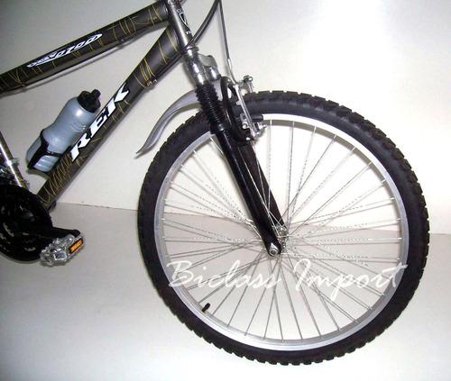 bicicleta  con amortiguador accs aluminio aro 26 18 cambios