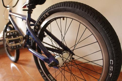 bicicleta con casete optimun, llantas nuevas freestyle