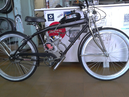 bicicleta con motor bicimoto 48cc. de reparto delivery