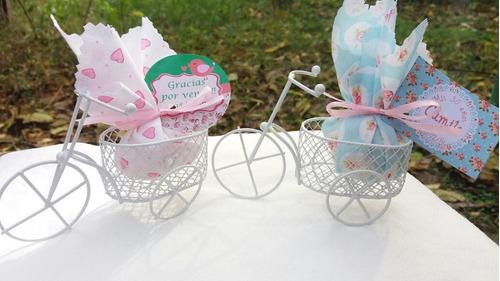 bicicleta con perfumero ideal casamiento, 15 años, cumpleaño