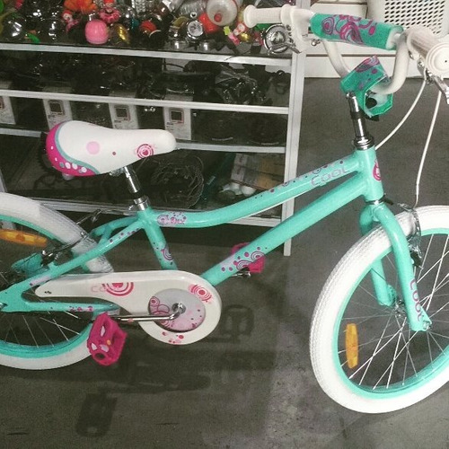 bicicleta cool 20 full aluminio