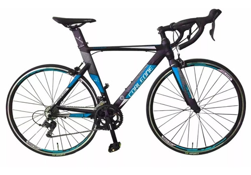 bicicleta corleone ruta aluminio grupo claris 16v tenedor