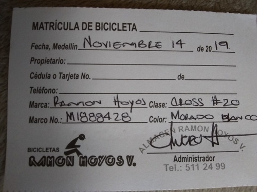 bicicleta cross#20