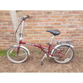 Bicicleta Dahon Boardwalk Red *** Plegable *** Rodado 20
