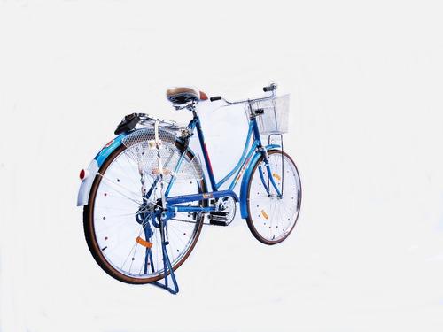 bicicleta dama antigua retro vintage tipo inglesa coleccion