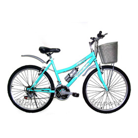 Bicicleta Dama Canasta Aro 26/24 18 V Liviana Piezas Taiwan