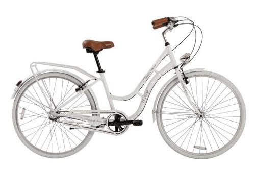 bicicleta dama raleigh classic blanca - racer bikes