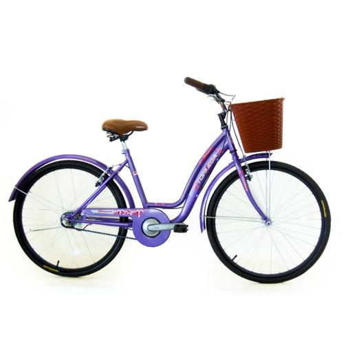 bicicleta dama topmega flower r 26 nexus 3vel vintage paseo
