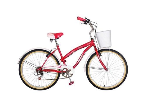 bicicleta dama winner jazz 6 velocidades 2016 motociclo