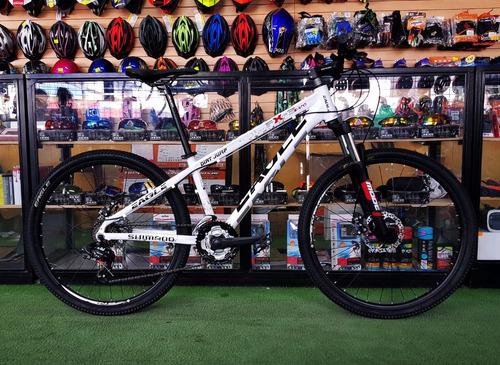 bicicleta dbk , eagle 26 shimano susp. bloqueo mtb/dirt 2018