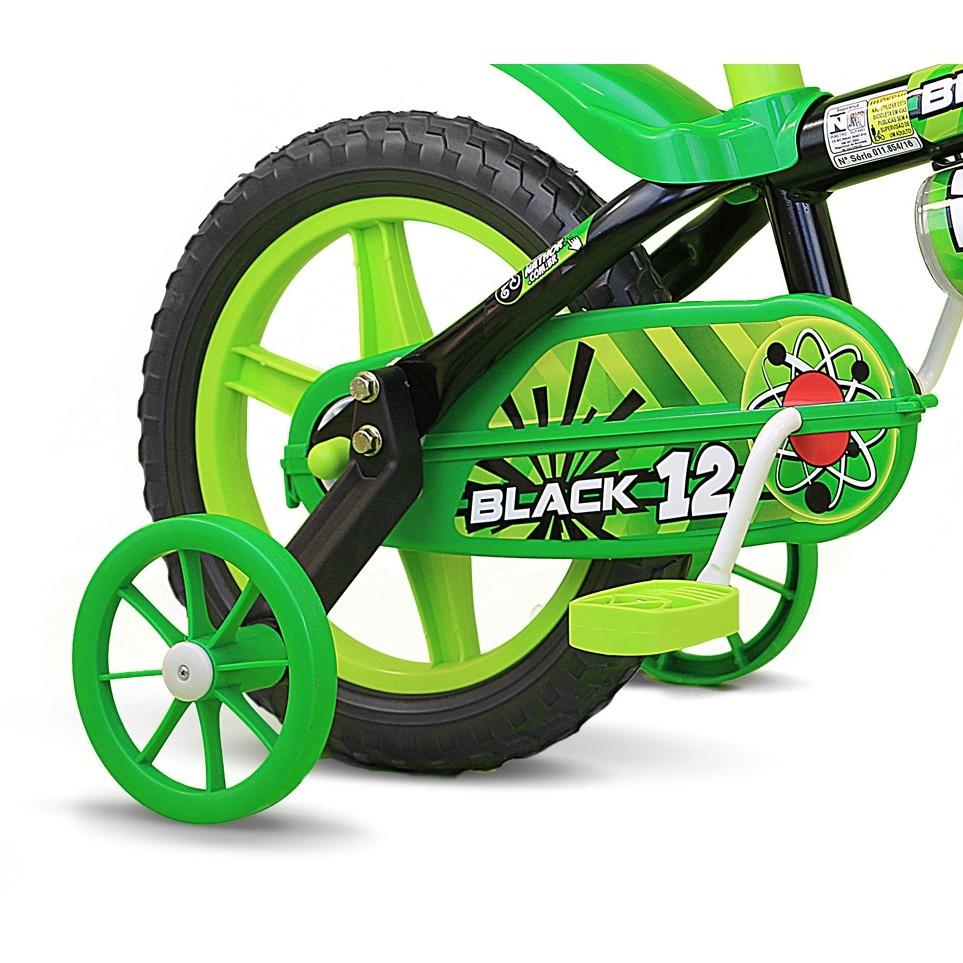 2c1997a84 bicicleta de 3 a 4 anos aro 12 black com capacete. Carregando zoom.
