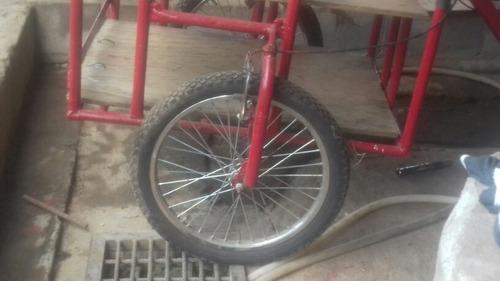 bicicleta de 3 llantas