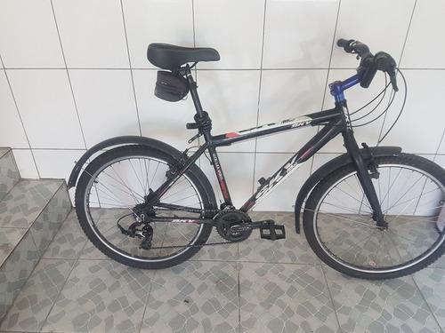 bicicleta de alumínio 21 marchas e com pessas shimano