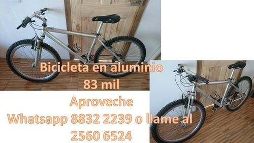 bicicleta de aluminio 83 mil