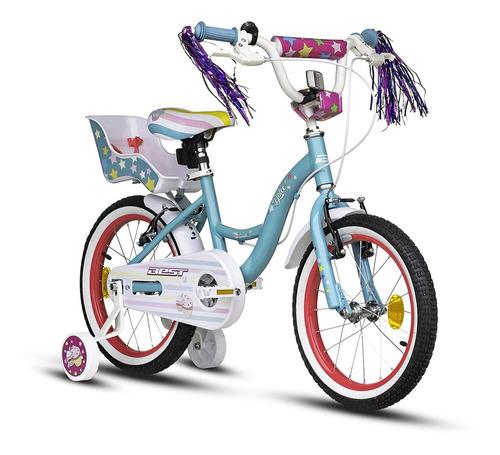 bicicleta de aluminio best dolce 16 + casco de regal