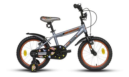 bicicleta de aluminio best galax 16 + casco de regalo