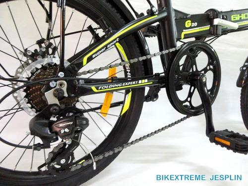bicicleta de aluminio ghost plegable ¡nuevas!