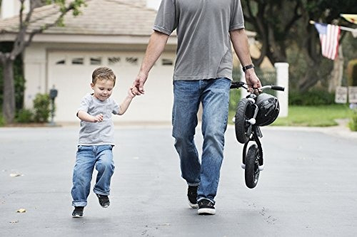 bicicleta de aluminio joovy para niño