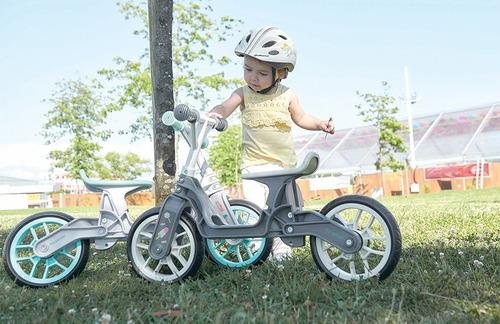 bicicleta de aprender niño 2-5años polisport s/ruedas fuerte