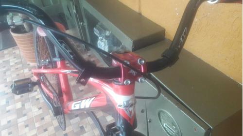 bicicleta de bicicross gw
