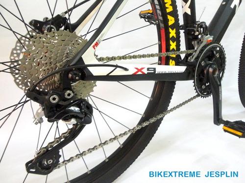 bicicleta de carbono trinx montañera profesional aro 26