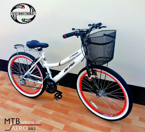 bicicleta de dama aero bike aro 26 montañera - nuevas