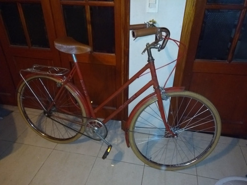 bicicleta de dama antigua vintage