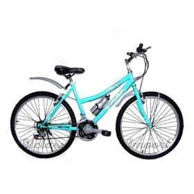Bicicleta De Dama Aro 26 / 24 Aluminio Componentes Taiwan