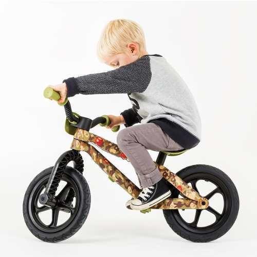 bicicleta de equilibrio niños chillafish comando aprendizaje