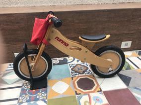 4be89c9b9 Bicicleta Infantil De Madeira Runna no Mercado Livre Brasil