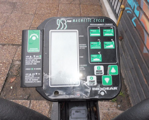 bicicleta de gimnacia semikon