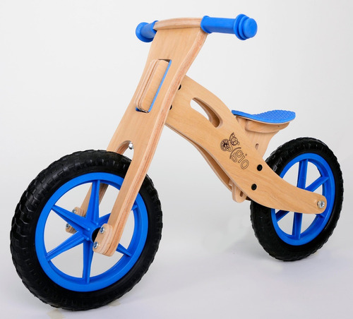 bicicleta de inicio sin pedales de madera gio eco