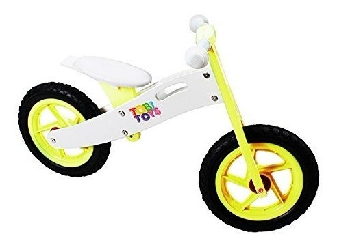 bicicleta de madera para niños/ as