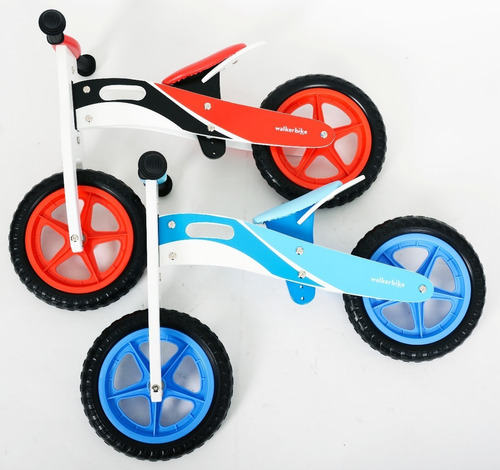 bicicleta de madera sin pedales walker bike gio