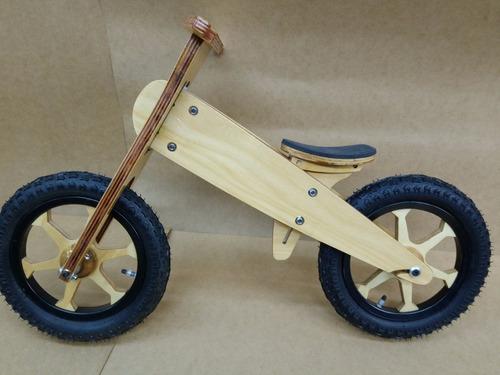 bicicleta de madera,excelente calidad-100% fab.argentina.