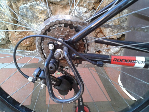 bicicleta de montaña btwin rockrider 5.2 rin 24.