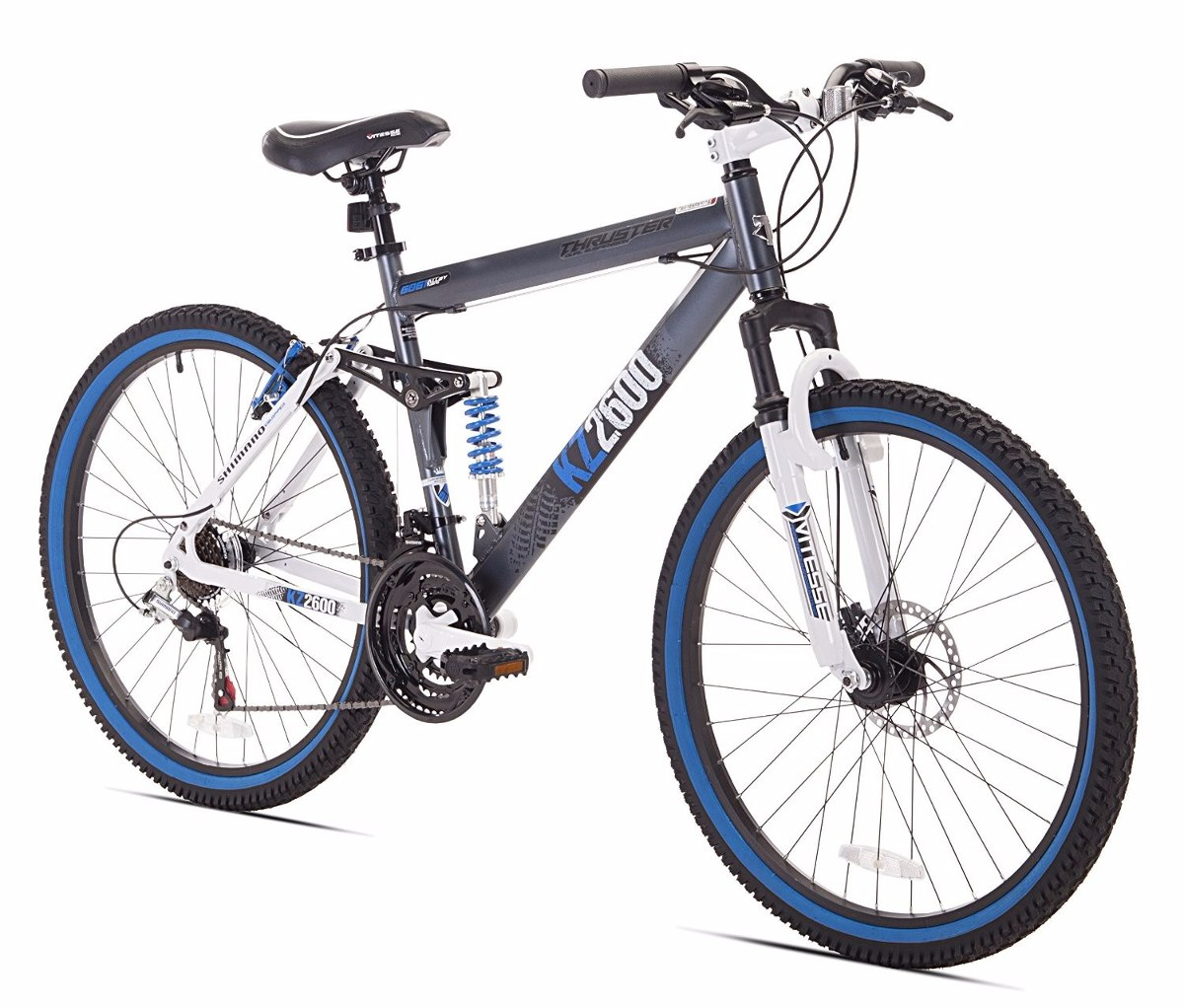 Bicicleta De Montaña De Doble Suspension 26 Pulg. Kent T ...
