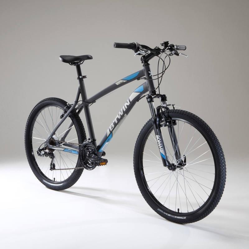 0277c9d9f bicicleta de montaña mtb rockrider 340 gris azul. Cargando zoom.