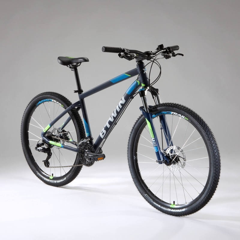f4225956059eb bicicleta de montaña mtb rockrider 520 azul marino. Cargando zoom.