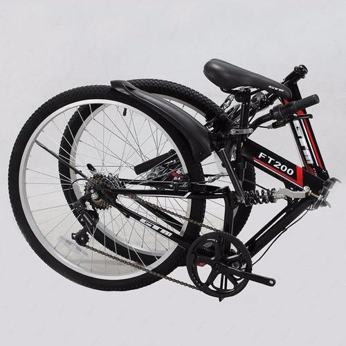 bicicleta de montaña plegable 7 velocidades de 26'' 0504