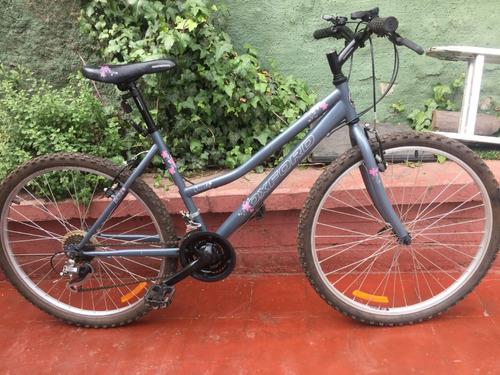 bicicleta de mujer montañesa