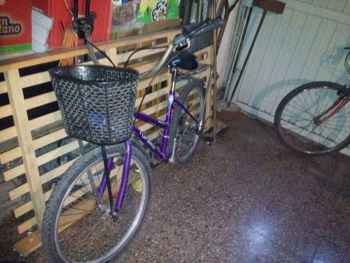 bicicleta de mujer topbike 18 cambios rodado 26